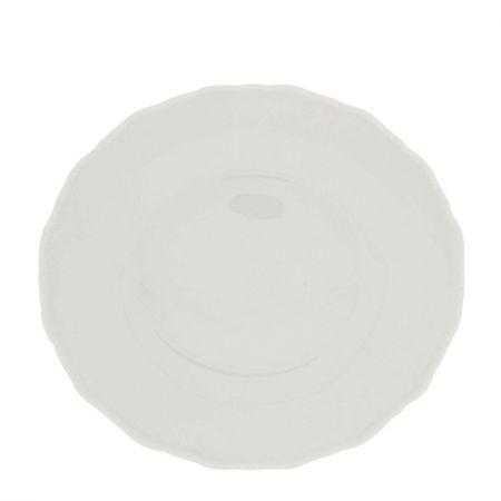 Pasta Plate White 23x21cm