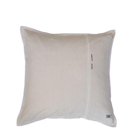 Cushion 50x50 Naturel Chambray Happy Home