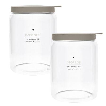 Storage Ass (2x4) with titane lid Dia 12.8x 16.5cm