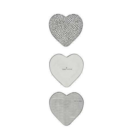 Spoon Holder Hearts BL 13x13 cm Ass (3x6)