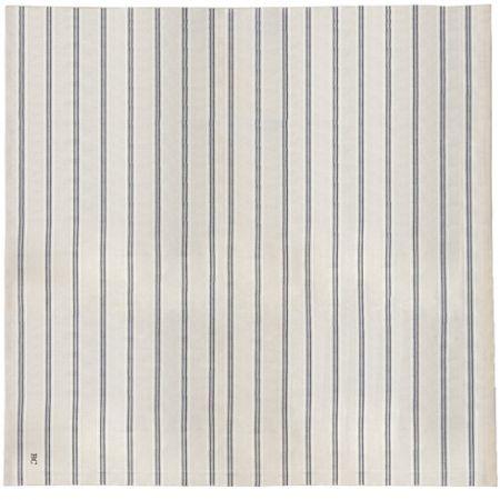 Tablecloth Natural Chambray 160x330 cm Stripe