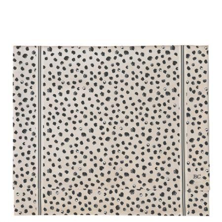 Runner 50x160 cm Naturel Chambray/Happy Dots