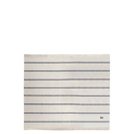 Napkin Naturel Stripe with little Heart 50x50 cm