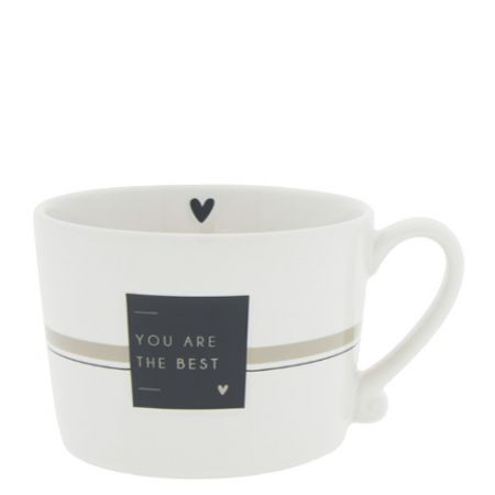 Cup White/You are the Best 10x8x7cm