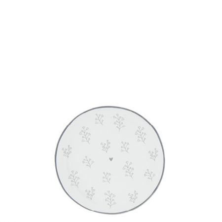 Teatip 9cm White/Petal in Grey