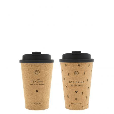 Coffee to go (2x12) Tea & Hot Drink Dia8.5x12 cm