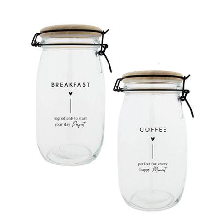 Storage Ass (2x6) Coffee & Breakfast Dia10.5x22 cm