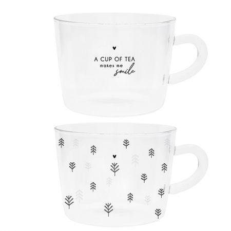 Tumbler Tea (2x12)a cup of tea &Trees10x7cm