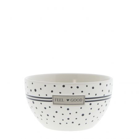 Bowl White/Feel Good Dia 13x7cm