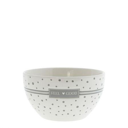 Bowl White/Feel Good Dia 13x7cm v2
