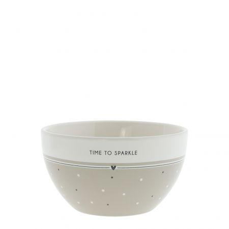 Bowl Titane/Time to Sparkle Dia 13x7cm