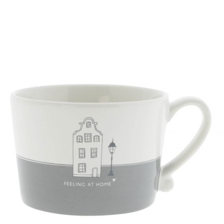 Cup White/Feeling at Home 10x8x7 cm v2