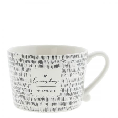 Cup White/Everyday my Favorite 10x8x7 cm