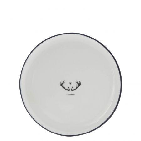 Dessert Plate19cm / oh Deer