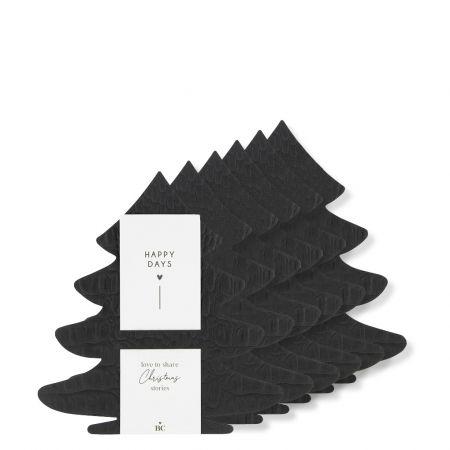 Xmas Tree Napkin Holder 6 pieces